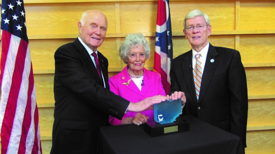 In 2012, the Philanthropy Ohio Board of Trustees awarded John and Annie Glenn the Ohio Philanthropy Award, recognizing their philanthropic spirit, generosity and dedication to strengthening individuals and communities.